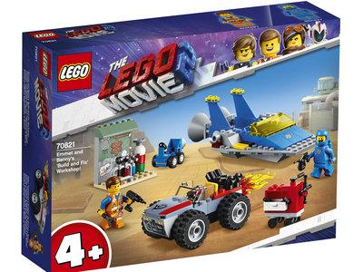 LEGO Movie 70821 Emmet's en Benny's bouw- en reparatiewerkplaats