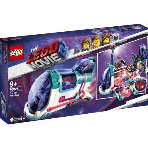 LEGO Movie 70828 Uitklap feestbus