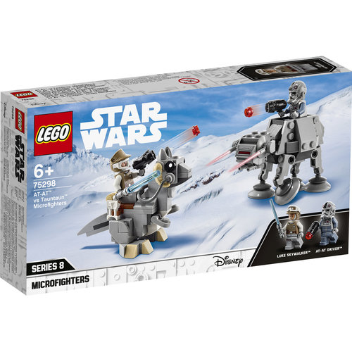 LEGO Star Wars 75298 AT-AT vs Tauntaun Micorfighters
