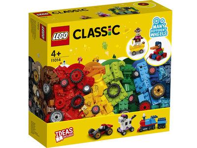 LEGO Classic 11014 Stenen en wielen