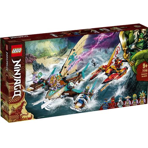LEGO Ninjago 71748 Catamaran zeeslag
