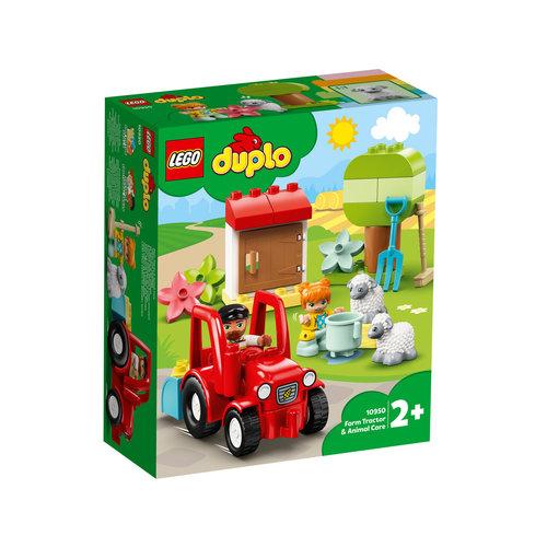 LEGO DUPLO 10950 Landbouwtractor en dieren verzorgen