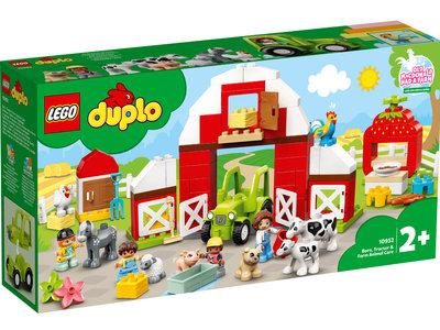 LEGO DUPLO 10952 Schuur, tractor en boerderijdieren verzorgen