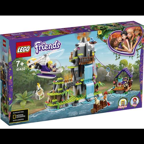 LEGO Friends 41432 Alpaca berg jungle reddingsactie