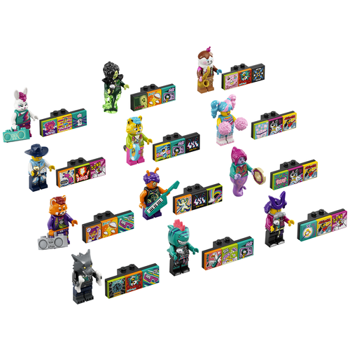 LEGO VIDIYO 43101 Bandmates Serie 1 Complete Serie