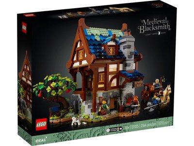 LEGO Ideas 21325 Middeleeuwse Smid