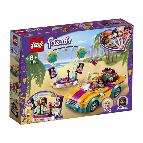 LEGO Friends 41390 Andrea's auto en podium
