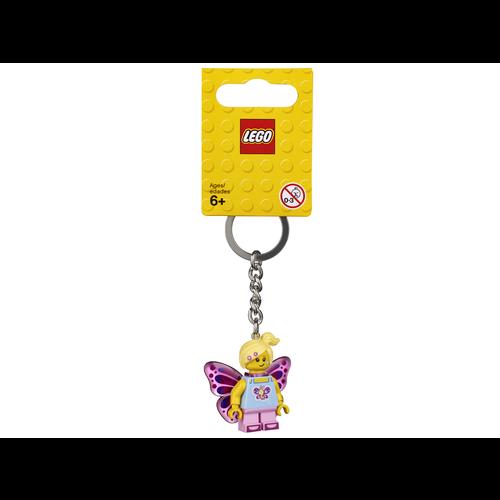 LEGO Sleutelhanger 853795 Classic Vlindermeisje