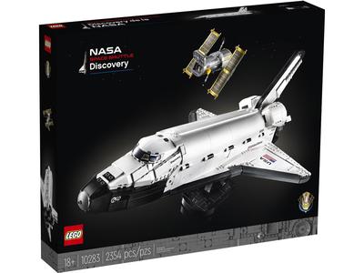 LEGO Creator Expert 10283 NASA Ruimtevaart raket