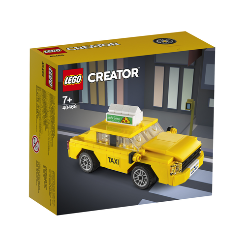 LEGO Exclusief 40468 Gele Taxi