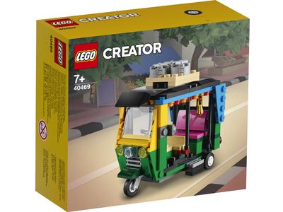 LEGO Exclusief 40469 Tuktuk
