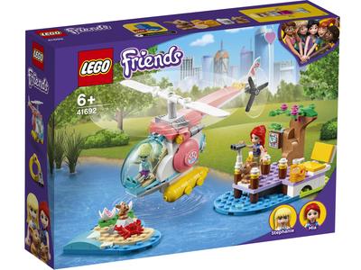 LEGO Friends 41692 Dierenkliniek reddingshelikopter
