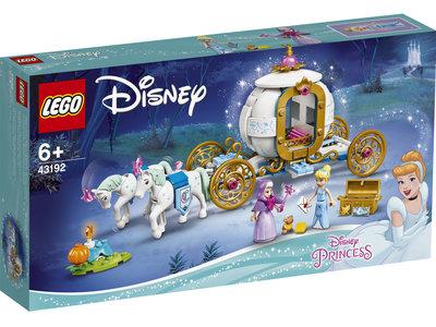 LEGO Disney 43192 Assepoesters koninklijke koets