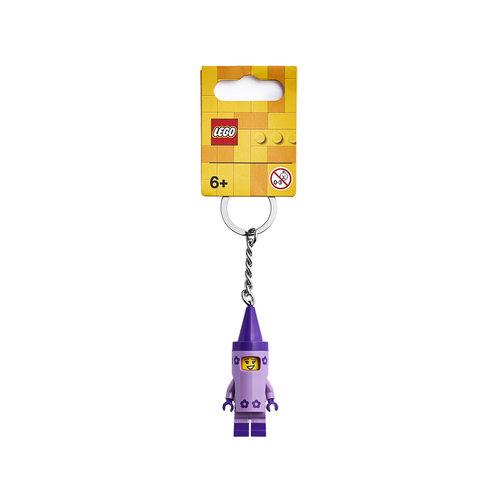 LEGO Sleutelhanger 853995 Classic Krijtjesmeisje