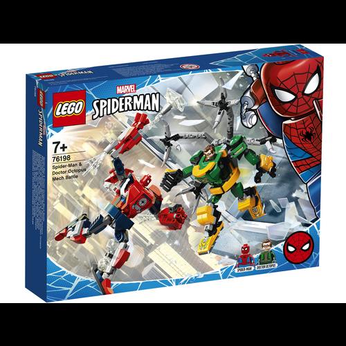 LEGO Spiderman 76198 Spider-Man & Doctor Octopus mechagevecht