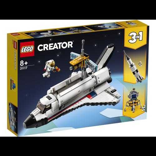 LEGO Creator 3 in 1 31117 Ruimteraket avontuur