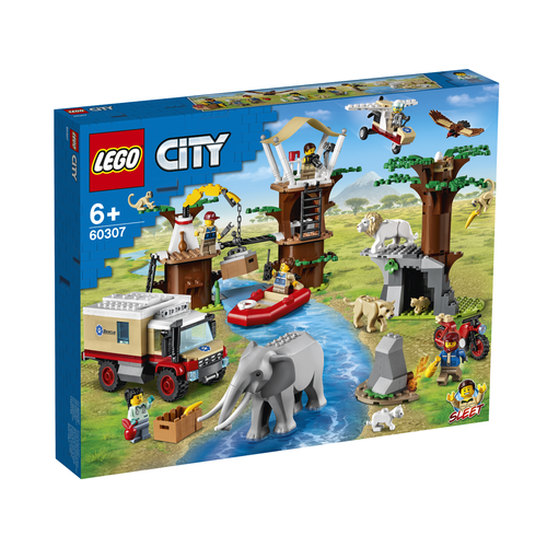 LEGO City 60307 Wildlife Rescue kamp