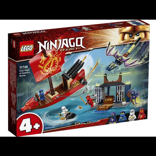 LEGO Ninjago 71749 Laatste tocht van Destiny's Bounty