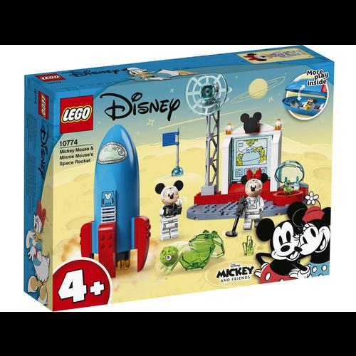 LEGO Disney 10774  Mickey Mouse en Minnie Mouse ruimteraket