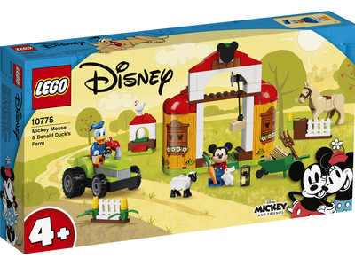 LEGO Disney 10775 Mickey Mouse en Donald Duck boerderij
