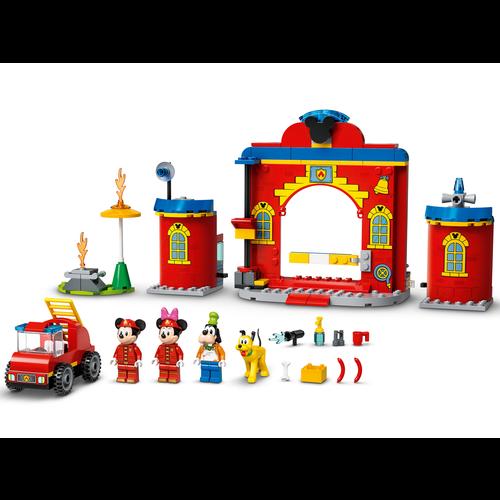 LEGO Disney 10776 Mickey en Friends brandweerkazerne en auto