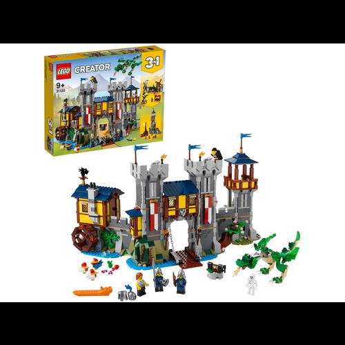LEGO Creator 3 in 1 31120 Middeleeuws kasteel