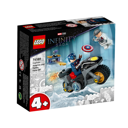 LEGO Marvel 76189 Captain America - Hydra confrontatie