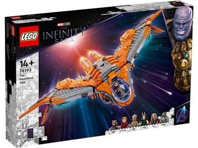LEGO Marvel 76193 Het schip van de Guardians