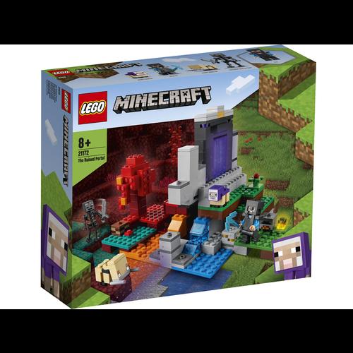 LEGO Minecraft 21172 Het verwoeste portaal