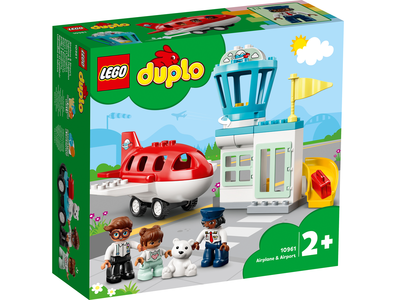 LEGO DUPLO 10961 Vliegtuig en vliegveld