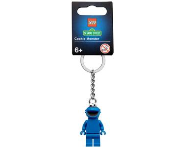 LEGO Sleutelhanger 854146 Sesamstraat Koekiemonster