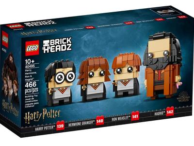 LEGO Brickheadz 40495 Harry, Hermelien, Ron en Hagrid