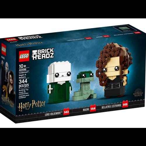 LEGO Brickheadz 40496 Voldemort, Nagini en Bellatrix