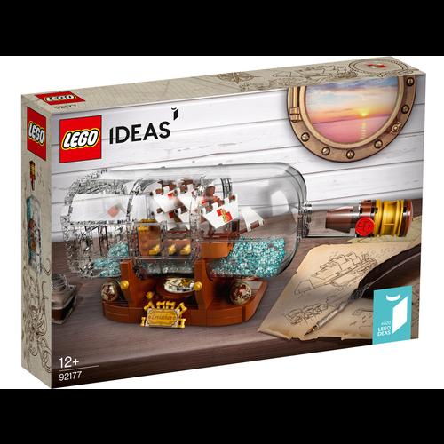 LEGO Ideas 92177 Schip in een fles