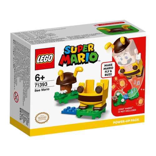 LEGO Super Mario 71393 Power-uppakket: Bijen-Mario