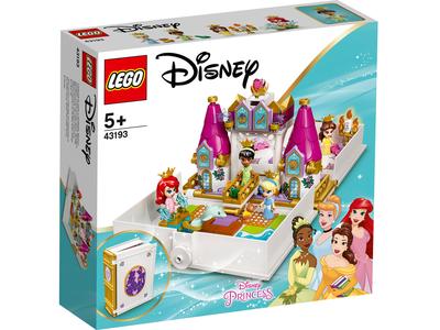 LEGO Disney 43193 Ariel, Belle, Assepoester en Tiana's verhalenboekavontuur