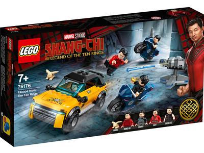 LEGO Marvel 76176 Ontsnappen uit De Tien Ringen