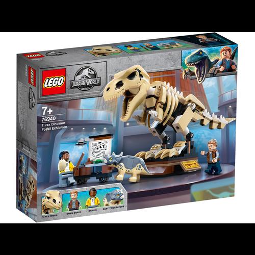 LEGO Jurassic World 76940 Tentoonstelling dinosaurusfossiel van T-rex