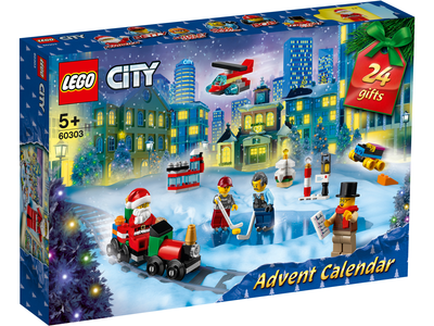 LEGO City 60303 City adventkalender 2021