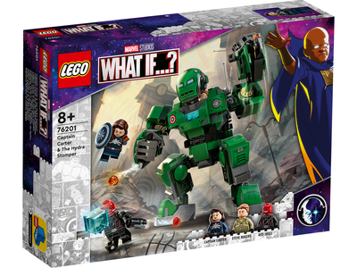 LEGO Marvel 76201 Captain Carter and The Hydra Stomper