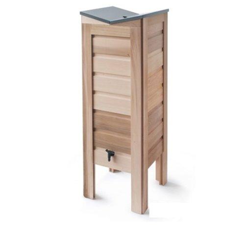 De Wiltfang Regenton cederhout - 100 Liter