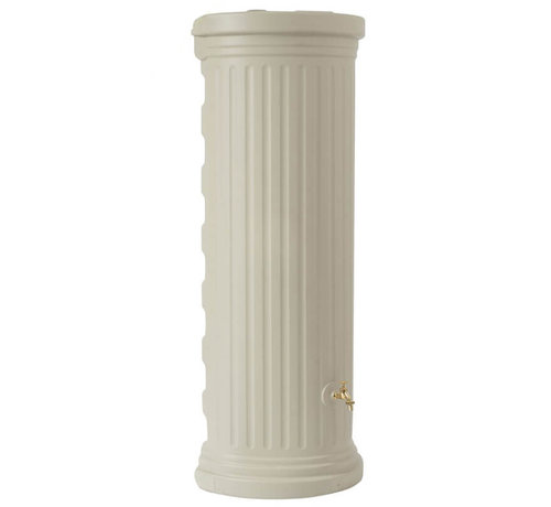 Garantia Regenton Column Muur - 550 liter - Zandbeige
