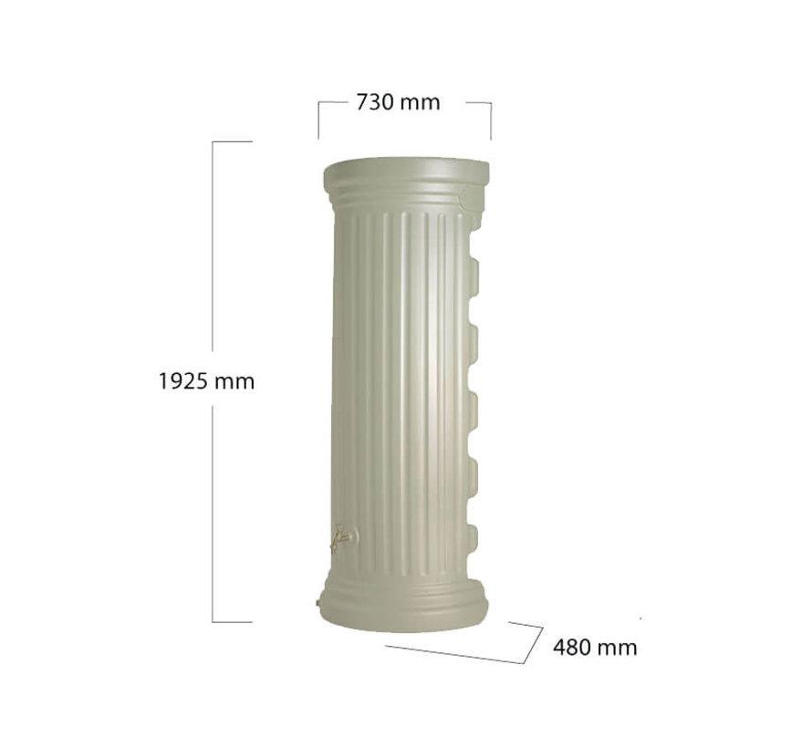 Regenton Column Muur - 350 liter Zandbeige