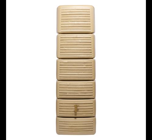 Garantia Regenton Slim - Wood Decor Light - 300 Liter