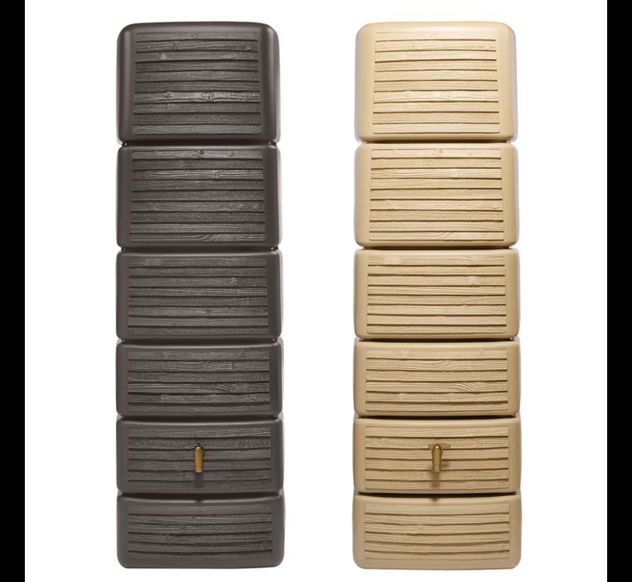 Regenton Slim - Wood Decor Light - 300 Liter