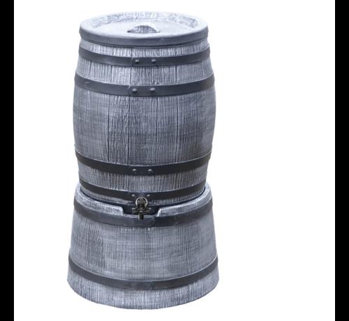 Roto Regentonset Roto 50 liter + voet - Grijs