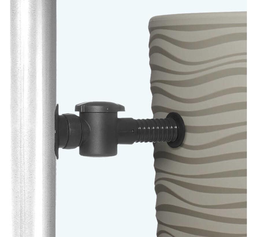 Regenton 2 in 1 - 350 Liter - Sahara + Vulautomaat
