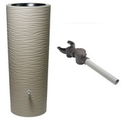 Garantia Regenton 2 in 1 - 350 Liter - Sahara + Vulautomaat