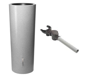 Garantia Regenton 2 in 1 - 350 Liter - Silver + Vulautomaat