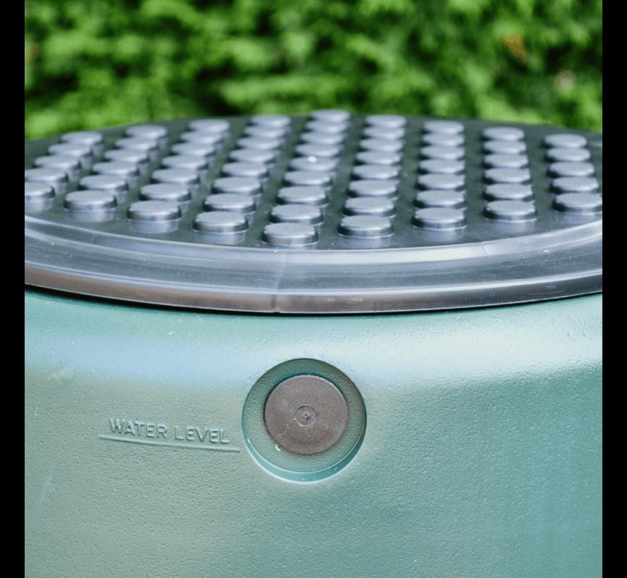 Regentonset Harcostar - 227 Liter Groen + Voet